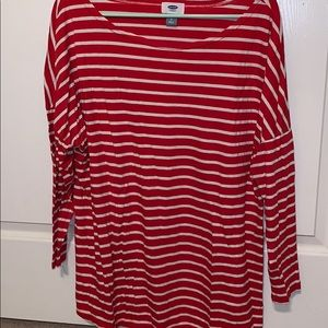 Candy Cane Long Sleeve Top